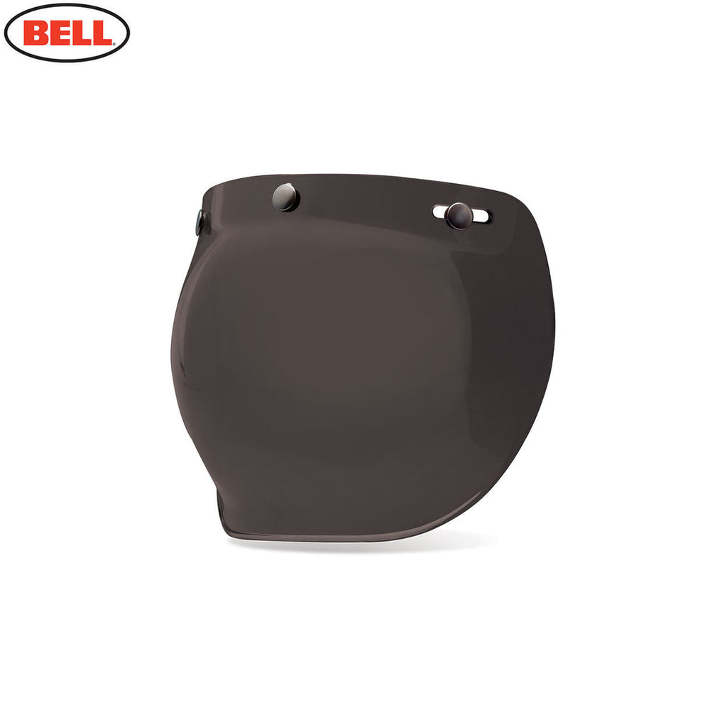 Bell Custom 500 3-Snap Bubble Motorcycle Helmet Sield / Visor - Dark Smoke - Bell -  - MSG BIKE GEAR