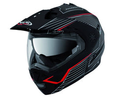 CABERG TOURMAX SONIC MATT/BLACK/RED FLIP FRONT MOTORCYCLE HELMET - Caberg -  - MSG BIKE GEAR