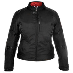 Oxford Girona 1.0 Ladies Waterproof Textile Jacket - Stealth Black