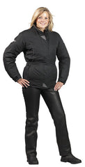 SPADA WESTERN LEATHER MOTORCYCLE MOTORBIKE PANTS TROUSERS - BLACK LADIES - Spada -  - MSG BIKE GEAR