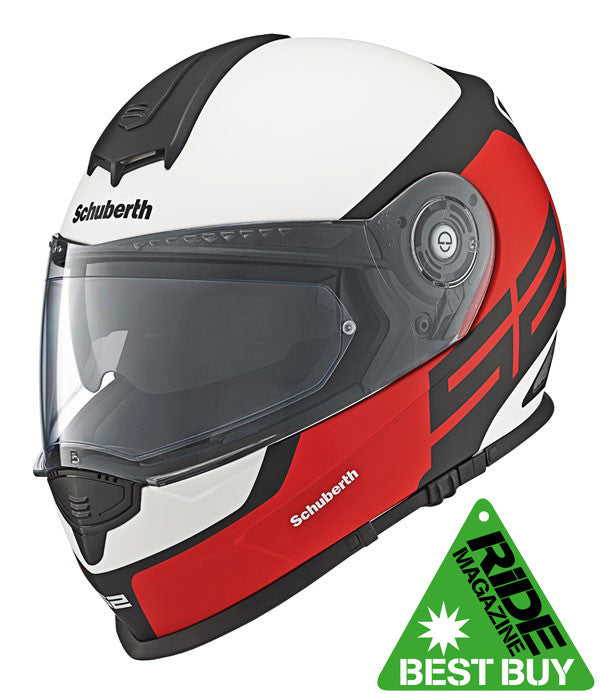 SCHUBERTH S2 SPORT / TOURING DVS FULL FACE MOTORCYCLE HELMET ELITE RED - Schuberth -  - MSG BIKE GEAR - 1