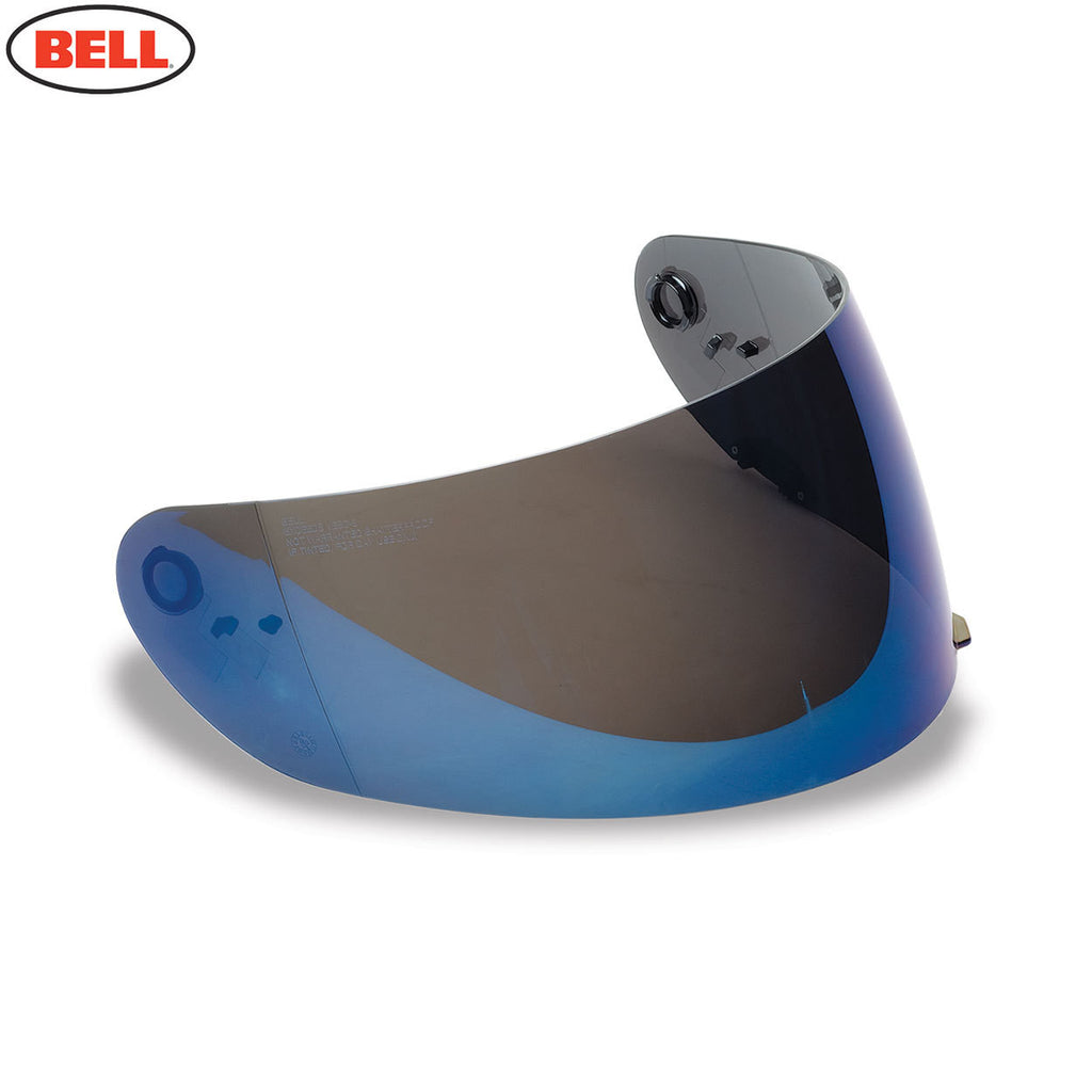 Bell  Star / RS-1 / Qualifier  Shield (Iridium) W/Anti Scratch & UV Light Blue - Bell -  - MSG BIKE GEAR