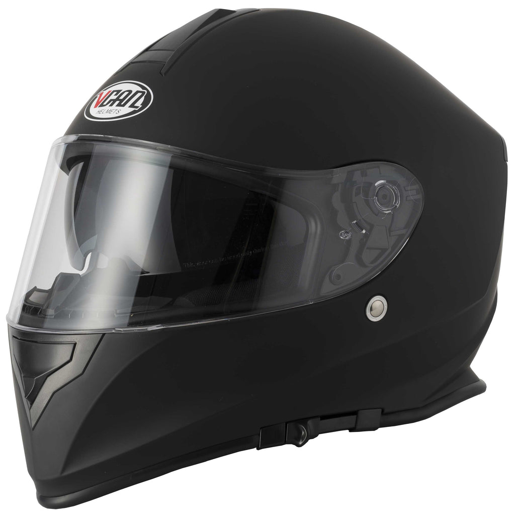 Vcan V127 Full Face Helmet - Matt Black