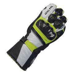 Richa Ravine Sport Leather Gloves - Black/White/Yellow