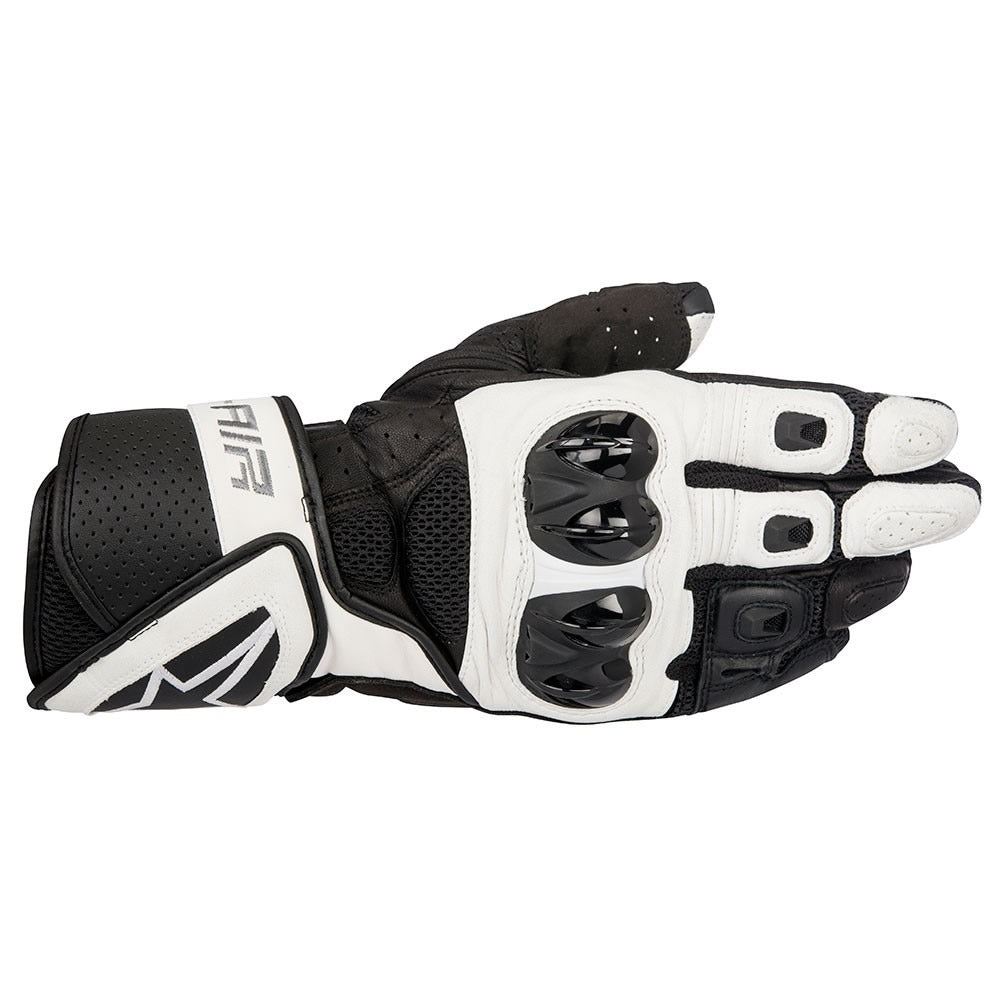 Alpinestars SP Air Mesh Leather Sports Motorcycle Gloves - Black/White - Alpinestars -  - MSG BIKE GEAR
