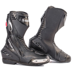 Richa Drift Waterproof Touring Sports Race Motorcycle Boots Black - Richa -  - MSG BIKE GEAR