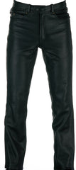 SPADA WESTERN LEATHER MOTORCYCLE MOTORBIKE PANTS TROUSERS - BLACK - Spada -  - MSG BIKE GEAR