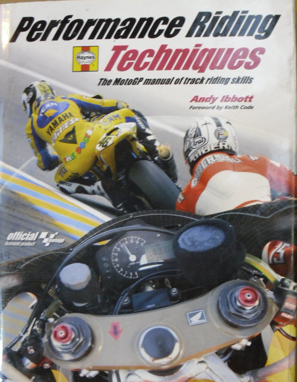 HAYNES H4343 PERFORMANCE RIDING TECHNIQUES BOOK new