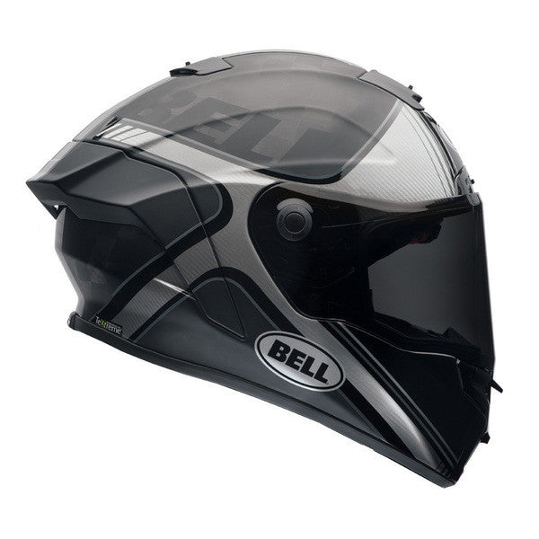 Bell 2017 Pro Star Full Face Carbon Motorcycle Helmet - Tracer Black/Silver - Bell -  - MSG BIKE GEAR - 1