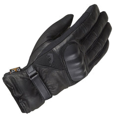 Furygan Midland D30 Men's Leather Waterproof Motorcycle Gloves - Black