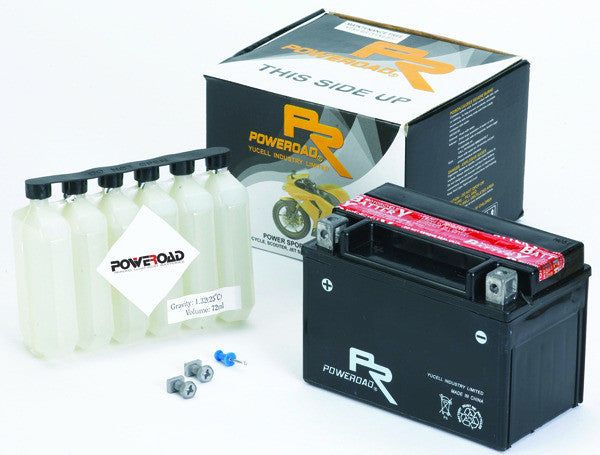 POWEROAD YTZ14-BS [YTZ14S] MF TYPE BATTERY [6] - Poweroad -  - MSG BIKE GEAR