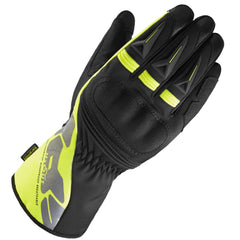 Spidi ALU-PRO WP Leather / Textile Gloves - Black / Yellow