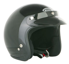 SPADA OPEN FACE BLACK MOTORCYCLE SPORTS HELMET - Spada -  - MSG BIKE GEAR