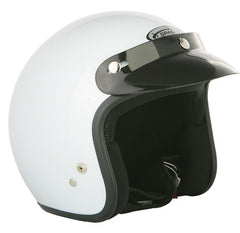 SPADA OPEN FACE WHITE MOTORCYCLE HELMET - Spada -  - MSG BIKE GEAR