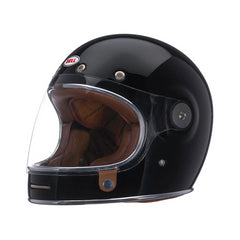 Bell Street Classic Bullitt Full Face Motorcycle Helmet (Solid Black) - Bell -  - MSG BIKE GEAR - 1