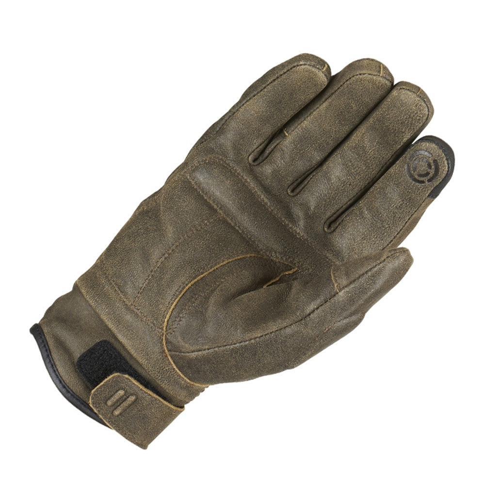 Furygan James D30 Leather Waterproof Gloves - Rust