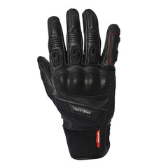 Richa Blast Sports Summer Vented Leather & Mesh Motorcycle Gloves Black - Richa -  - MSG BIKE GEAR - 1