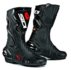 SIDI COBRA BLACK MOTORCYCLE SPORTS RACE BOOTS + FREE SOCKS - SIDI -  - MSG BIKE GEAR
