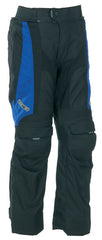 SPADA DUO TECH WATERPROOF TROUSERS BLACK/BLUE ADJUSTABLE LEG SHORT/REG LEG New - Spada -  - MSG BIKE GEAR