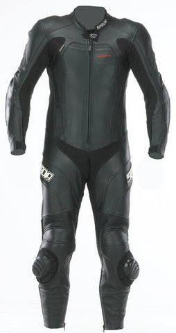 SPADA PREDATOR MOTORCYCLE MOTORBIKE RACING 1 P/C SUIT - BLACK - SALE - Spada -  - MSG BIKE GEAR