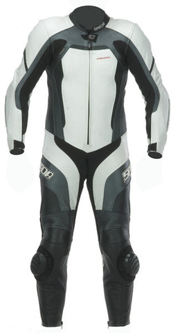 SPADA PREDATOR MOTORCYCLE MOTORBIKE RACING 1 P/C SUIT - WHITE/BLACK SALE - Spada -  - MSG BIKE GEAR