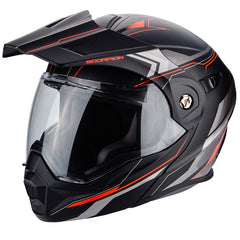 Scorpion Exo ADX-1 Flip Adventure Helmet - Anima Black/Red