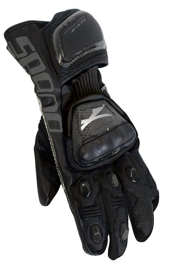 SPADA ELITE MOTORBIKE MOTORCYCLE LEATHER TEXTILE GLOVES BLACK - Spada -  - MSG BIKE GEAR