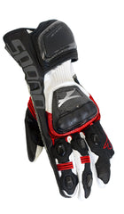 SPADA ELITE MOTORBIKE MOTORCYCLE LEATHER TEXTILE GLOVES RED - Spada -  - MSG BIKE GEAR
