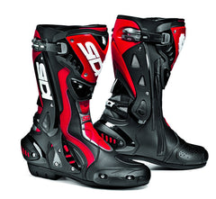 SIDI ST BLACK/RED MOTORCYCLE SPORTS RACE BOOTS + FREE SOCKS - Sidi -  - MSG BIKE GEAR