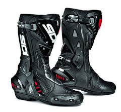 SIDI ST AIR BLACK MOTORCYCLE SPORTS RACE BOOTS + FREE SOCKS - Sidi -  - MSG BIKE GEAR