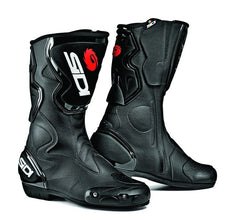 SIDI FUSION BLACK MOTORCYCLE SPORTS BOOTS  + FREE SOCKS - Sidi -  - MSG BIKE GEAR