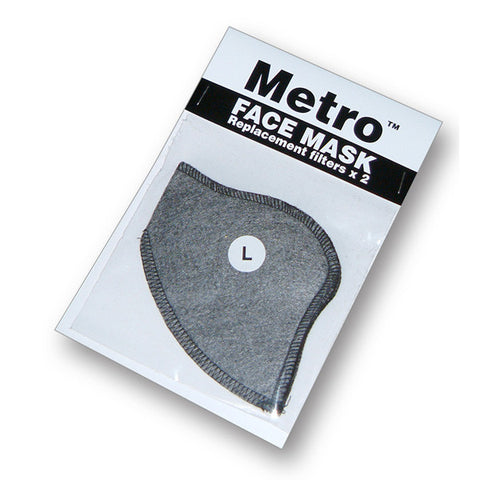 RESPRO METRO ANTI POLUTION FACE MASK FILTERS - Respro -  - MSG BIKE GEAR