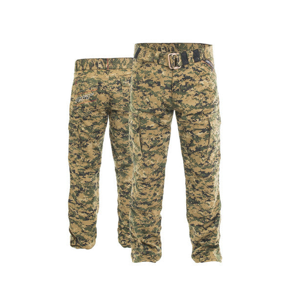 RST 2215 ARAMID Cargo Motorcycle Textile Jeans Inc Belt Digital Green Camo - RST -  - MSG BIKE GEAR - 1