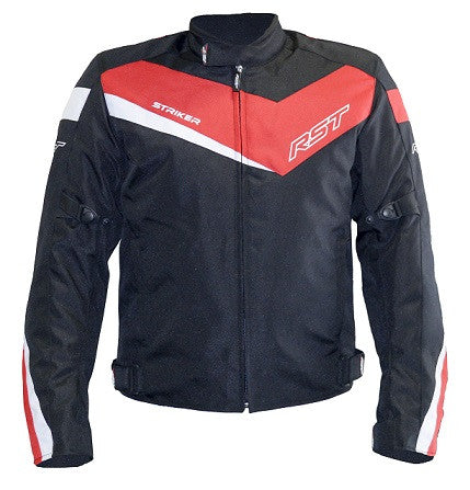 RST Striker Solid Textile Sports Jacket - Red