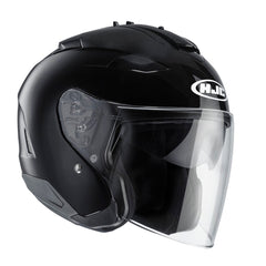 HJC IS-33 II Open Face Helmet - Gloss Black