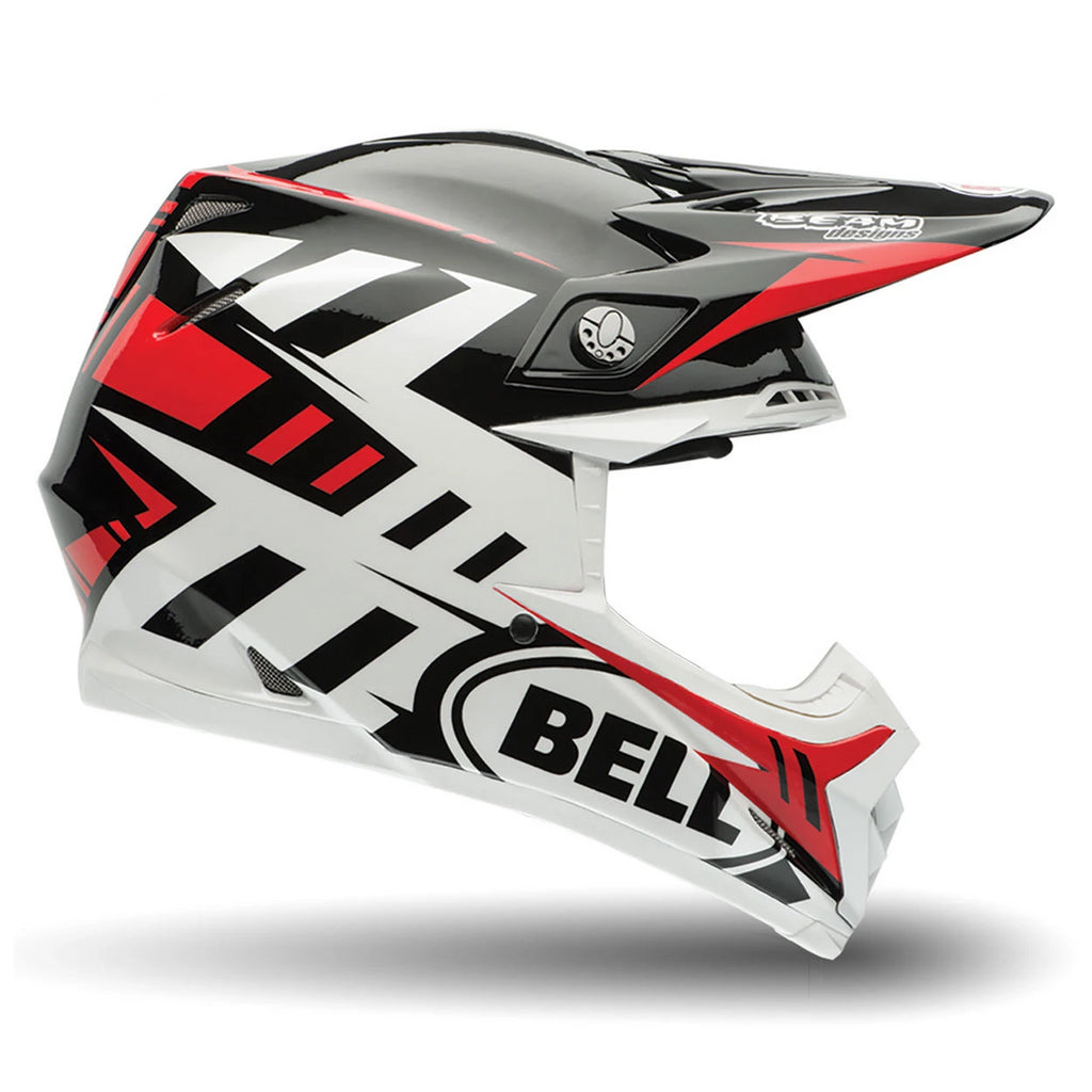 Bell MX Moto-9 Flex Enduro Motocross Helmet (Syndrome Red) - Bell -  - MSG BIKE GEAR - 1
