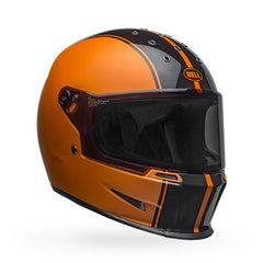 Bell Eliminator Rally Matte/Gloss Full Face Helmet - Black/Metallic Orange