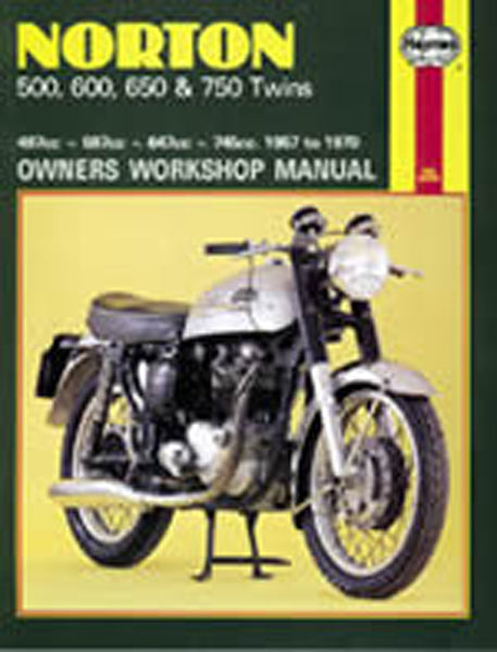 HAYNES 187 NORTON 500/600/650750 TWINS MANUAL new