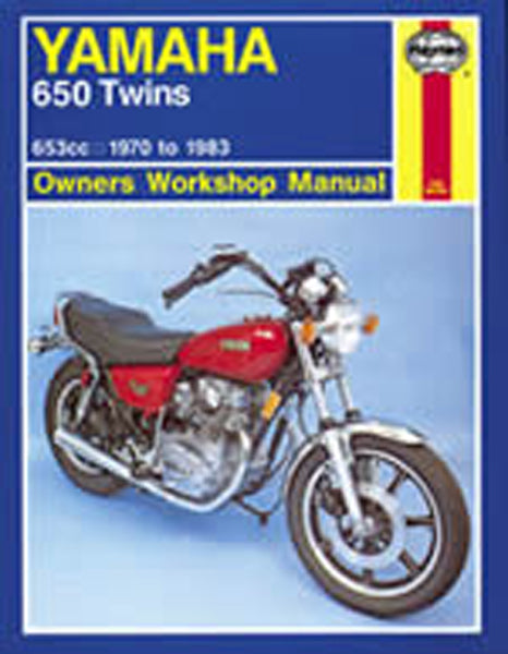 HAYNES 341 YAMAHA 650 TWINS MANUAL new