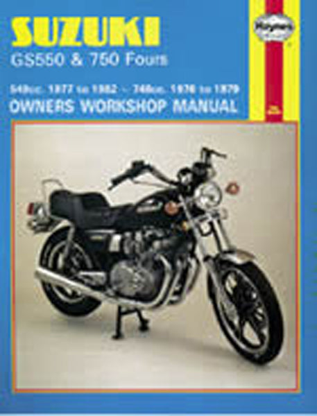 HAYNES 363 SUZUKI GS750/550 FOURS MANUAL new