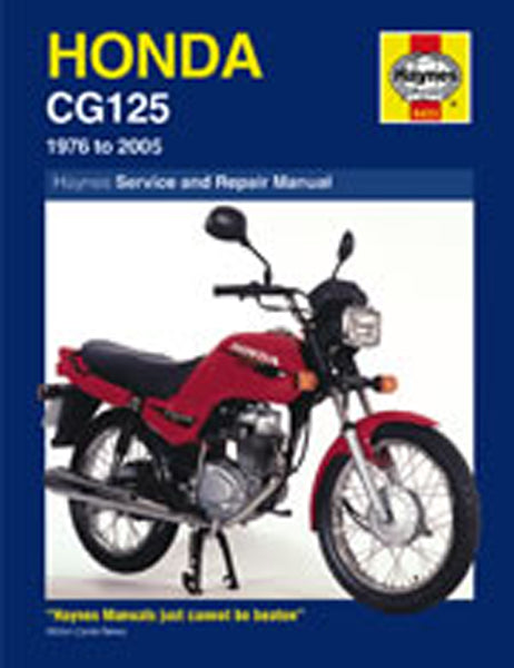 HAYNES 433 HONDA CG125 76-07 MANUAL new
