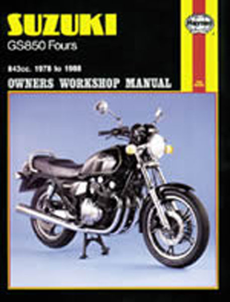HAYNES 536 SUZUKI GS850 MANUAL new