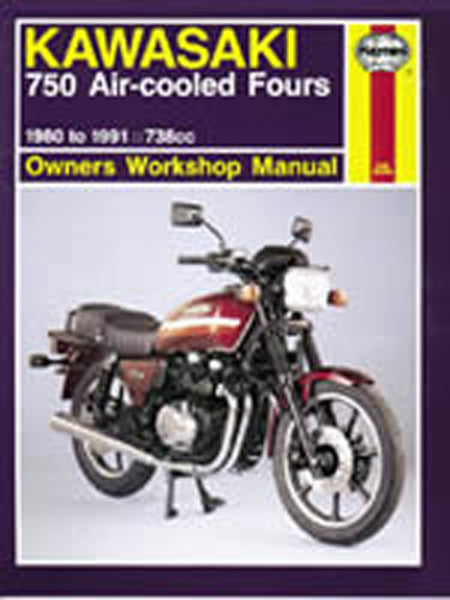 HAYNES 574 KAWASAKI KZ/Z750 FOURS MANUAL new
