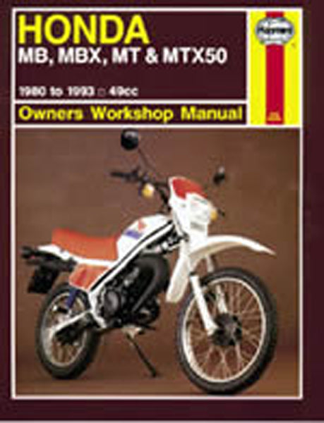 HAYNES 731 HONDA MB/MT50 MANUAL new
