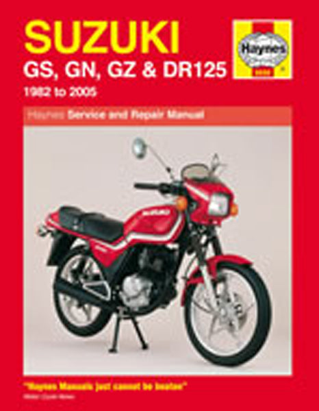 HAYNES 888 SUZUKI GS125 & DR125 MANUAL new