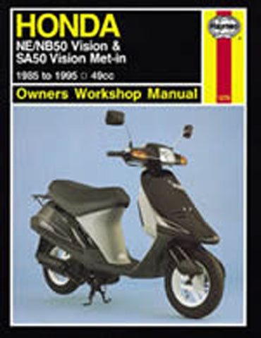 HAYNES 1278 HONDA NE/NB50 VISION MANUAL new