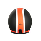 HJC FG-70S Open Face DVS Motorcycle Scooter Helmet - Heritage MC7F Orange - HJC -  - MSG BIKE GEAR - 4