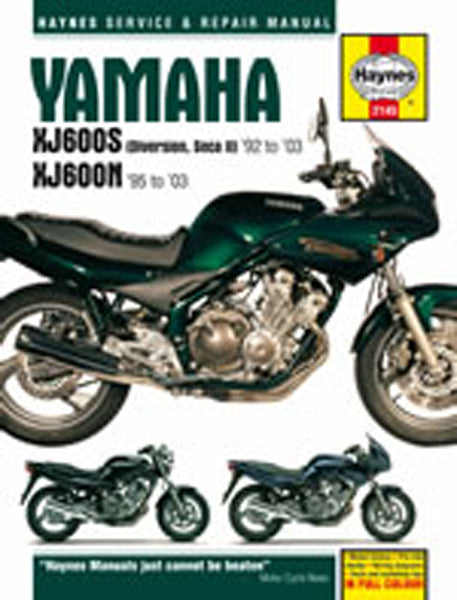HAYNES 2145 YAMAHA XJ600S DIVERSION MANUAL new