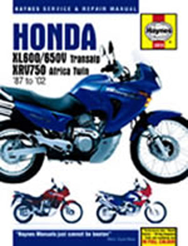 HAYNES 3919 HONDA XL600/650V & XRV750 AFRICA TWIN new