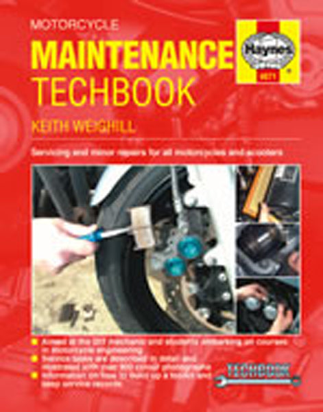HAYNES 4071 MOTORCYCLE MAINTENANCE TECHBOOK new